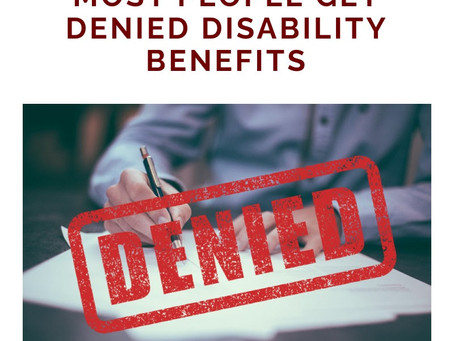 Denied for Social Security Disability