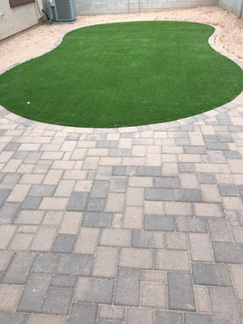 Paver Patio Seating area Gilbert AZ (2).