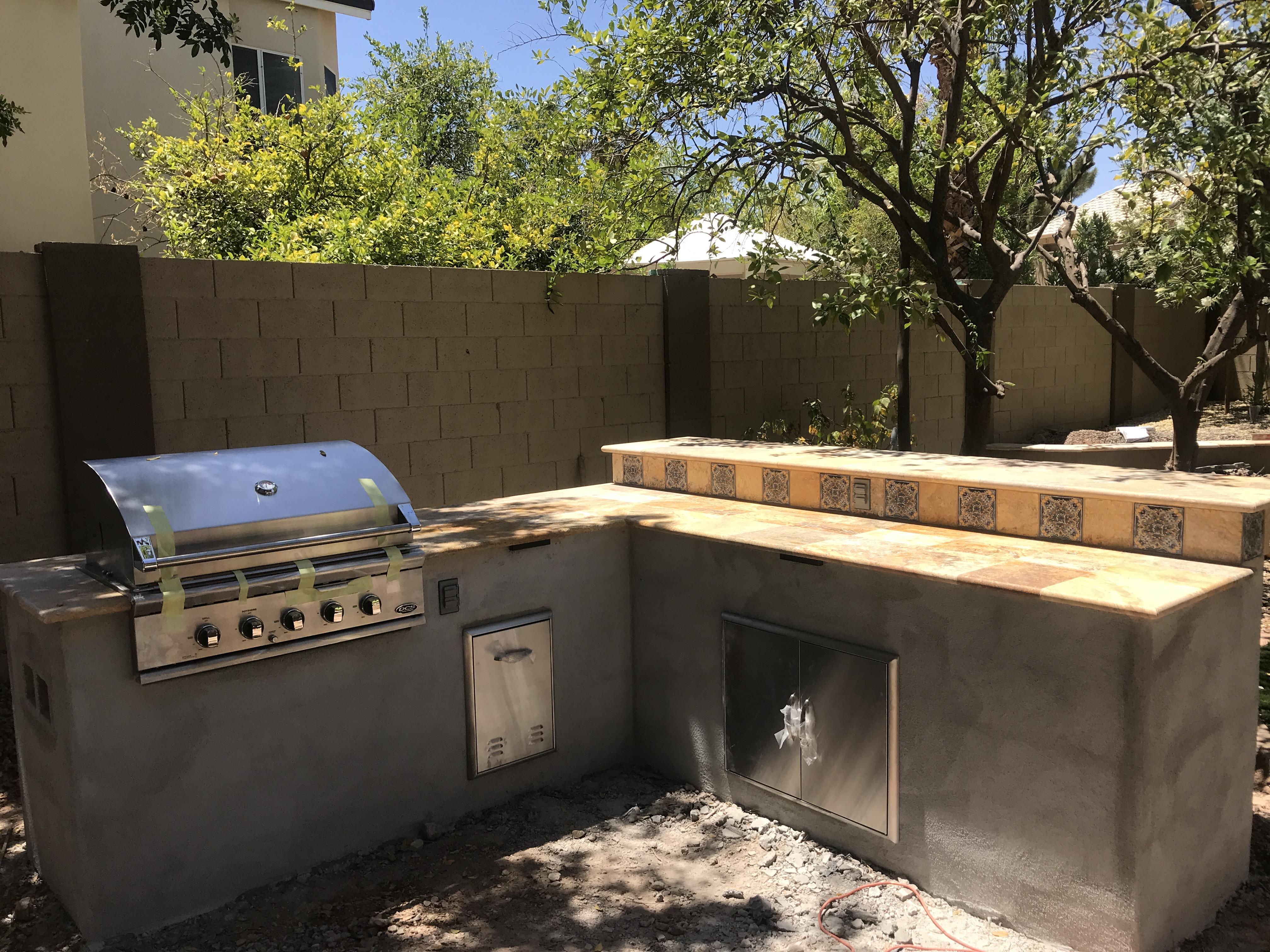 Outdoor Kitchen Bar Scottsdale AZ