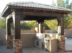 Outddor Kitchen Area Queen Creek AZ
