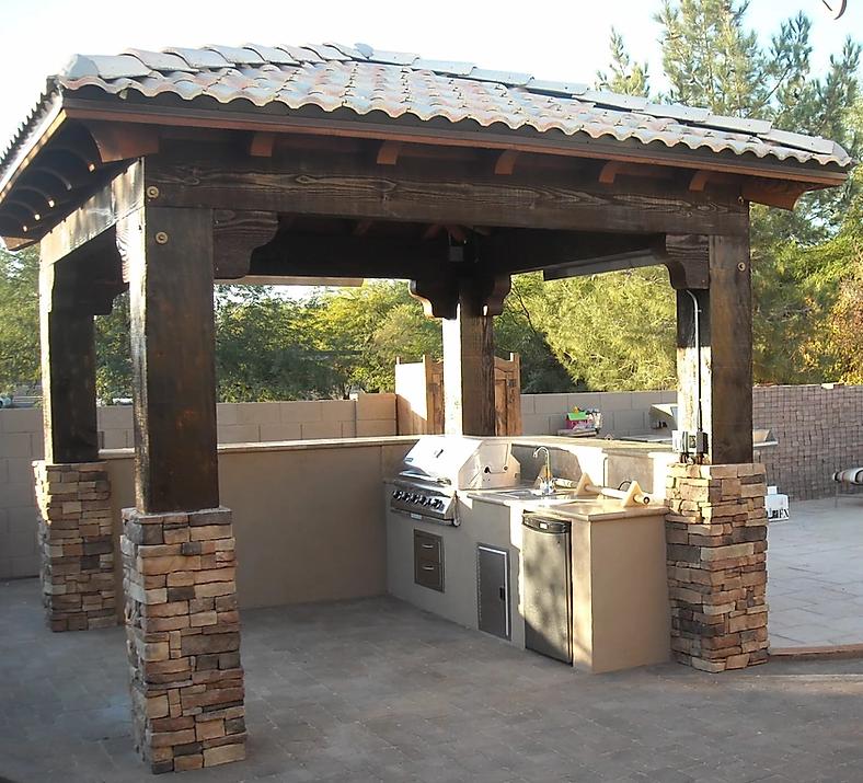 Ramada Shade Structure Scottsdale AZ
