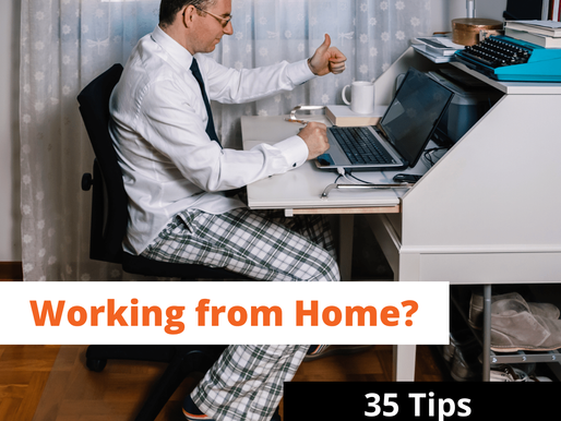 Working from Home? 35 Tips from our Digital Marketing Agency