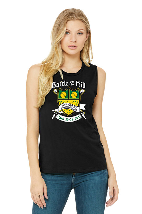 Battle on the Hill Softball Tank Top