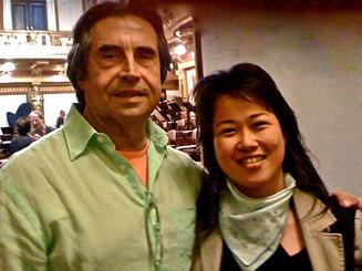 Madeline meets Maestro Muti _#royalopera