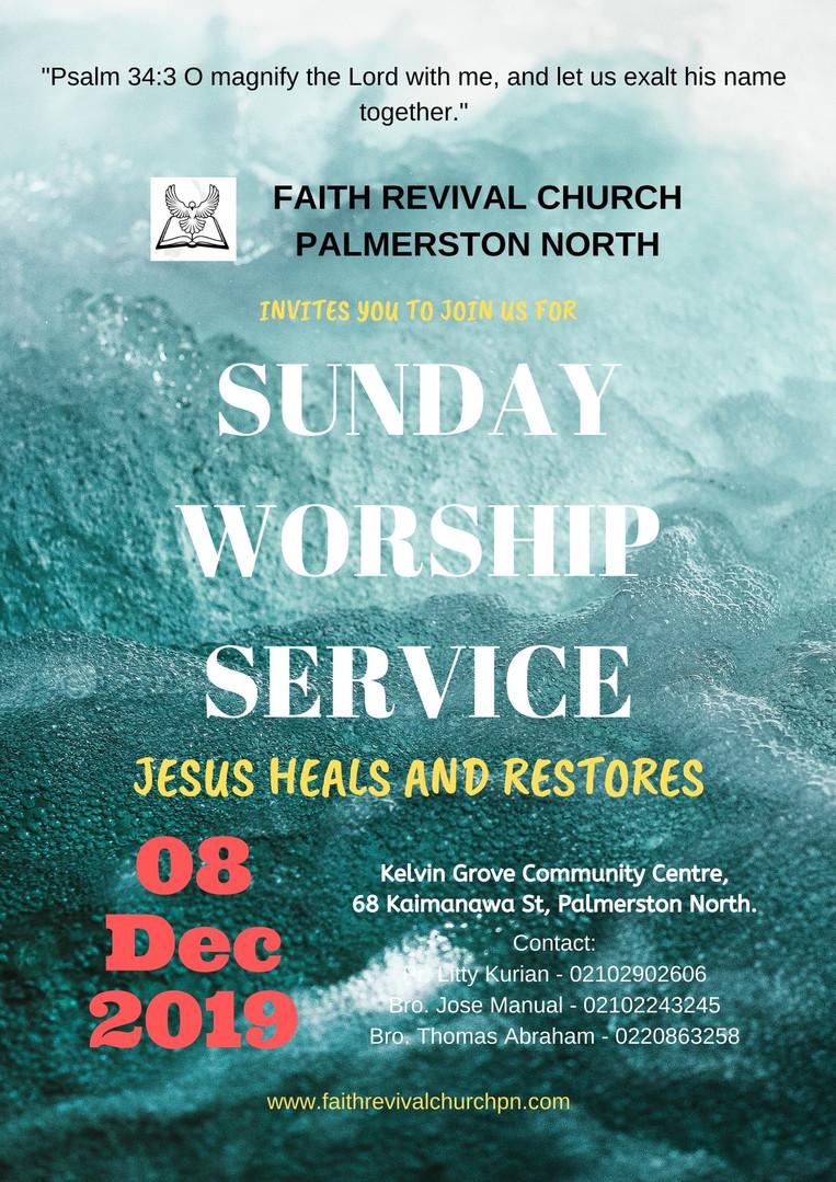 faith revival church, Palmerston North.j