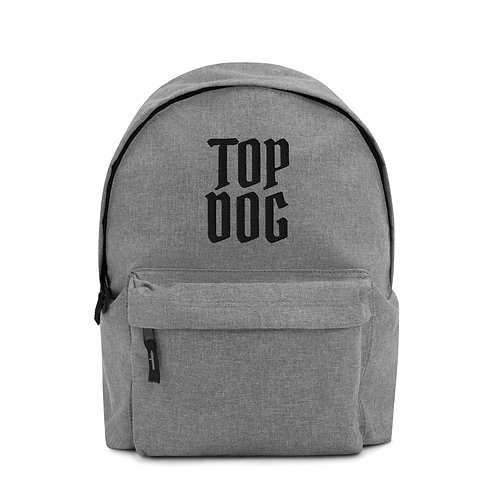 TOP DOG Embroidered Backpack