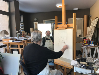 Dries Uyttenhove: tentoonstelling portretten
