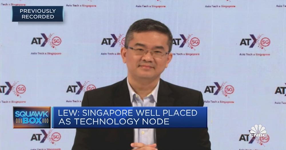 IMDA Chief Executive Lew on Singapore Tech Development