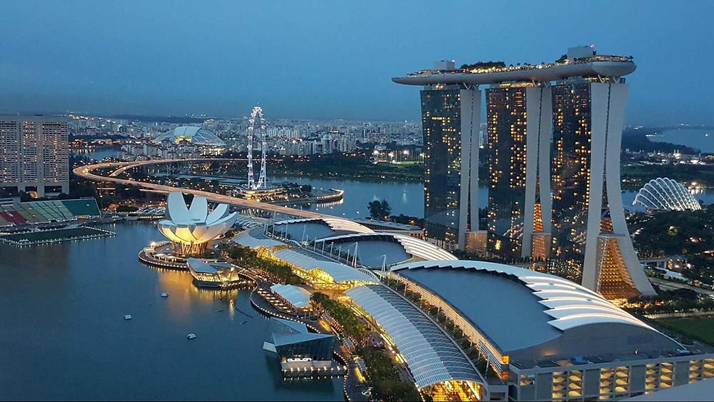 Singapore Marina Bay Sands Business Centre