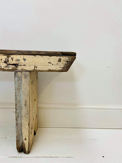 Antique bench **DOES NOT include delivery**