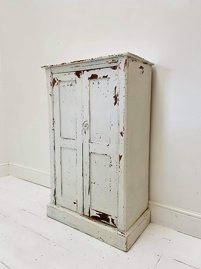 Late 19th Century shelved lockable cupboard **includes shipping**
