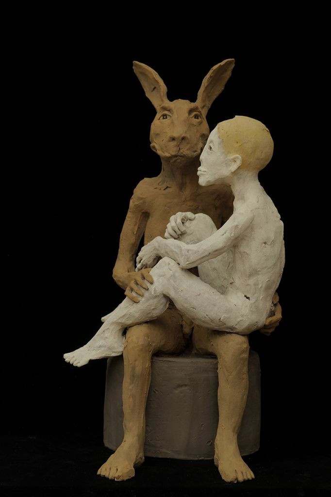 Ruta Jusionyte - Le lapin et la fille