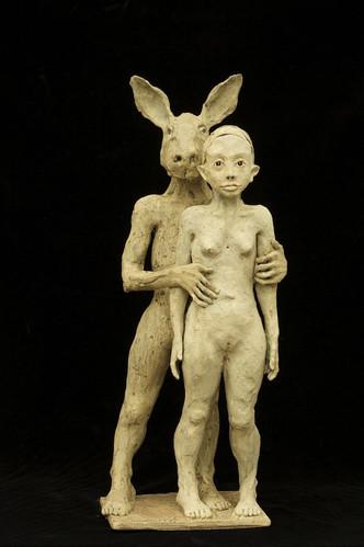 Ruta Jusionyte - La fille et le lapin