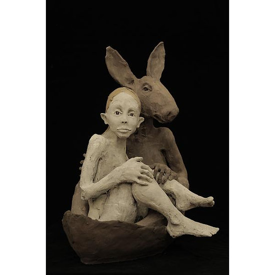 Ruta Jusionyte - La fille et le lapin, 2015