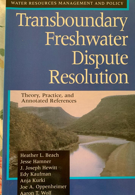 transboundary freshwater dispute resolution