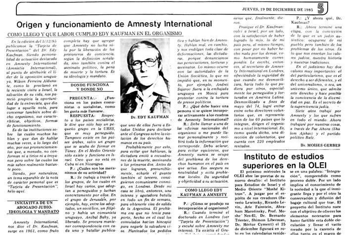 Origen y funcion amiento de Amnesty Inte