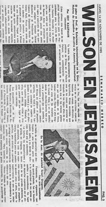 Wilson en jerusalem 14 november 1985 1.j