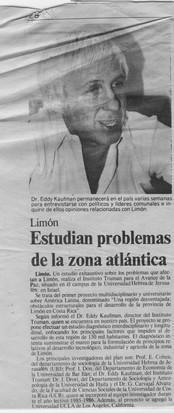 Estudian problemas de l zona atlantica 1