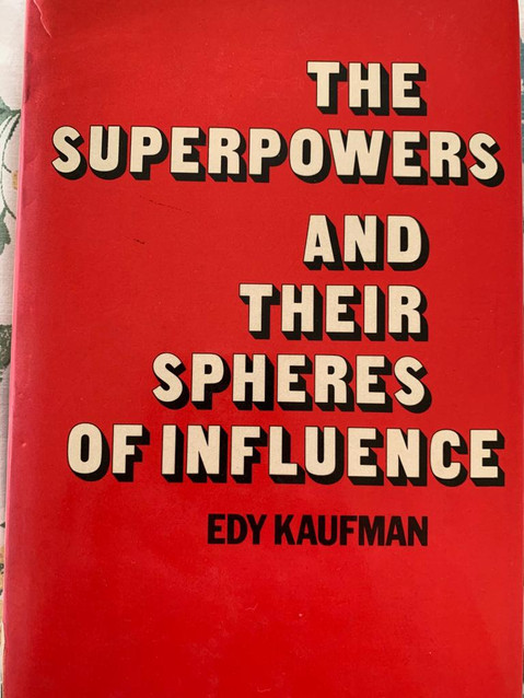 the superpowers and their  spheres of influence