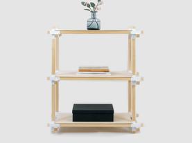 好きな大きさで家具が作れるサポート金物
