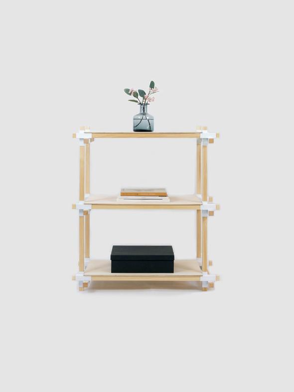 好みの大きさの家具が作れるサポート金物