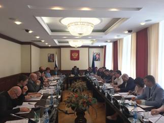 Александр Новьюхов принял участие в заседании рабочей группы по доработке проекта закона, касающегос