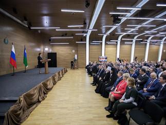 Александр Новьюхов поделился впечатлениями о ежегодном обращении Губернатора автономного округа