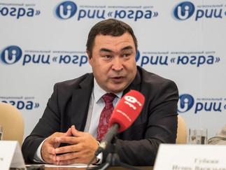 Александр Новьюхов принял участие в пресс-конференции, посвященной проведению Кубка губернатора Югры