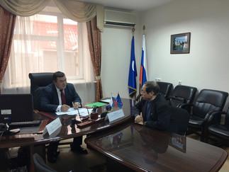Александр Новьюхов и Андрей Моргун провели совместный приём граждан по личным вопросам