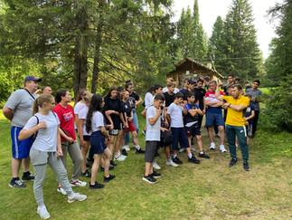Александр Новьюхов организовал для молодых спортсменов экскурсию в музей «Торум Маа»