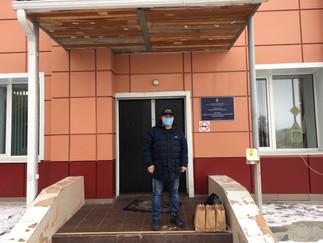 Александр Новьюхов продолжает волонтерскую деятельность