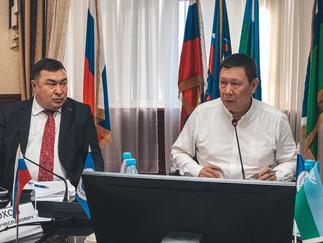 Александр Новьюхов принял участие в заседании Координационного совета Ассоциации коренных малочислен