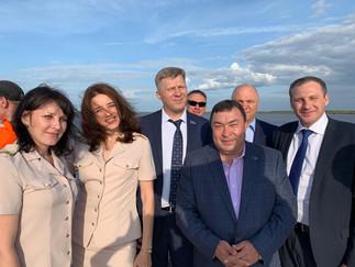 Александр Новьюхов принял участие во встрече с делегацией Законодательного Собрания Нижегородской об