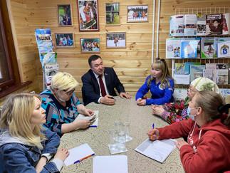 Александр Новьюхов встретился с членами нижневартовского отделения «Спасения Югры»