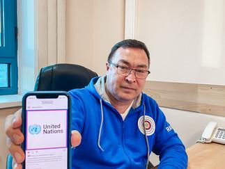 Александр Новьюхов выступил с докладом на сессии Постоянного Форума ООН по вопросам коренных народов