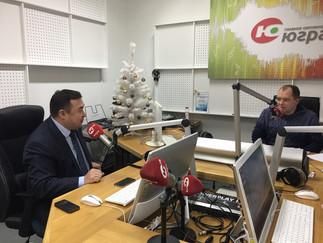 Александр Новьюхов стал гостем программы «Тема дня» на радио «Югра»