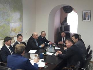 Александр Новьюхов с рабочей поездкой посетил Березовский район