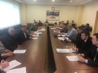 Александр Новьюхов принял участие в заседании комиссии по вопросам территорий традиционного природоп