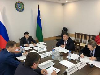 Александр Новьюхов принял участие в заседании Совета представителей коренных малочисленных народов С