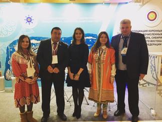 Александр Новьюхов принял участие международном форуме «Год языков коренных народов»