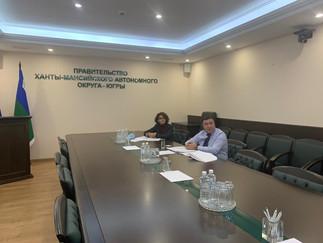 Под председательством Александра Новьюхова в Правительстве Югры состоялось заседание Совета представ