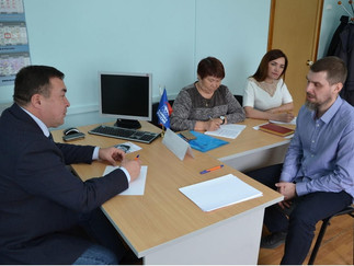 Александр Новьюхов провёл приём граждан в поселке Берёзово