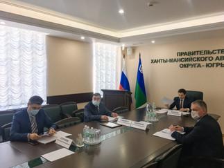 Александр Новьюхов принял участие в заседании общественного совета при Правительстве Югры