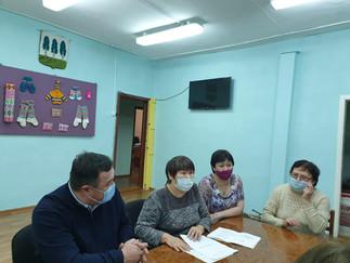 Александр Новьюхов принял участие во встрече с активом общественной организации «Спасение Югры»