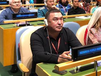 Александр Новьюхов продолжает работу в 18-ой сессии Постоянного форума по вопросам коренных народов