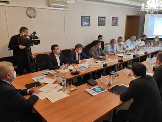 Александр Новьюхов принял участие в выездном заседание круглого стола по вопросам промышленного рыбо
