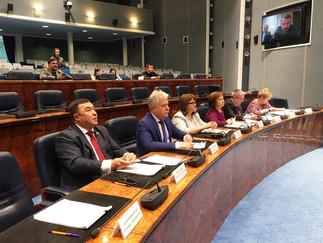 Александр Новьюхов принял участие в заседание Координационного совета по предоставлению грантов Губе