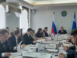 Александр Новьюхов провел заседание Совета представителей коренных малочисленных народов Севера при