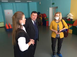 Александр Новьюхов посетил детский сад №1 в Ханты-Мансийске