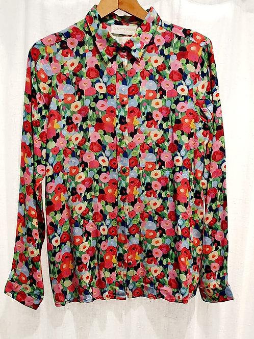 chemise fleurie poppies